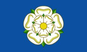 Yorkshire Large Deluxe County Flag - 5' x 3'.